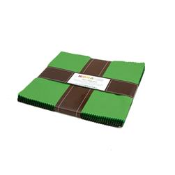 "Robert Kaufman Kona Solids Wondrous Woods 10"" Layer Cake"