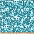 Feathers & Flourishes Flourish Scroll Turquoise