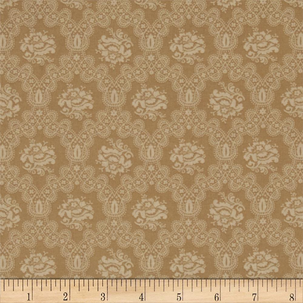 Scarlet Evening Flower Lace Tan