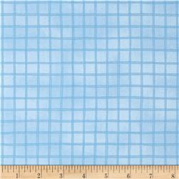 Woodsy Wonders Windowpane Check Blue