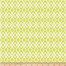 Riley Blake Lula Magnolia Lattice Green Fabric