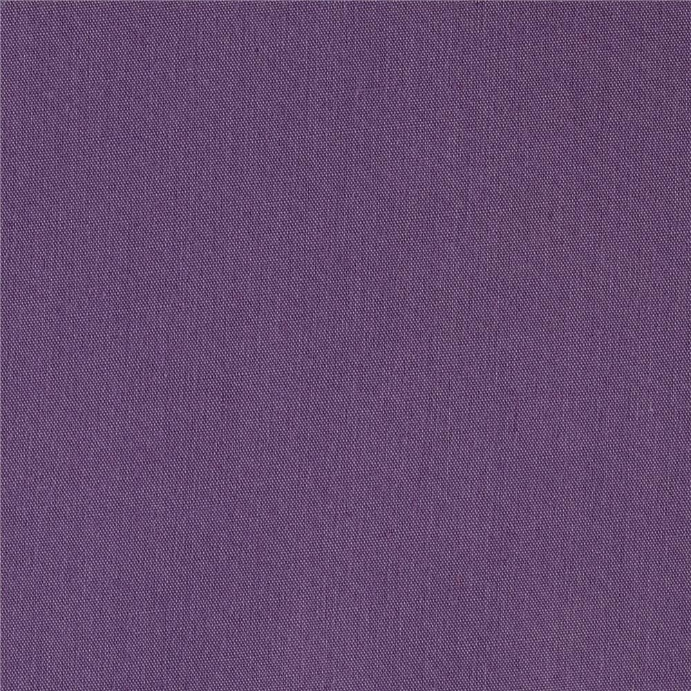 60'' Poly Cotton Broadcloth Dark Lilac Fabric By The Yard