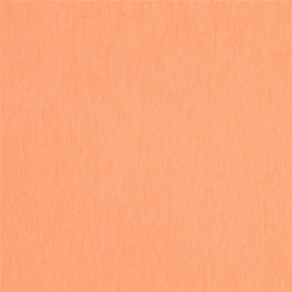 Art Gallery Pure Elements Jersey Knit Solid Orange Creamsicle