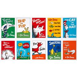 "Dr. Seuss Celebrate Seuss Book Blocks 24"" Panel Adventure"