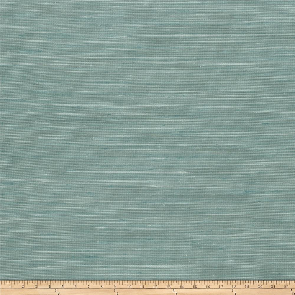 Trend 03594 Faux Silk Solid Seaglass