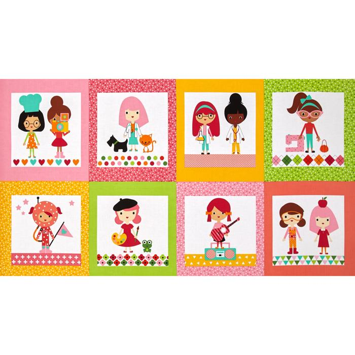 Kaufman Girlfriends Career Girls Blocks Garden
