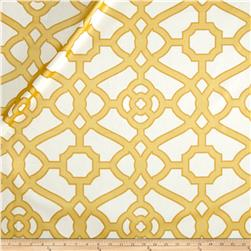 pkaufmann burnished tile chintz gold - Home Decor Fabric