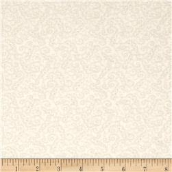 Moda Whitewashed Cottage Scrolls Linen-Pebble