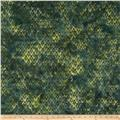 Island Batik Tree Dark Green