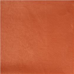 Fabricut 03343 Faux Leather Pumpkin