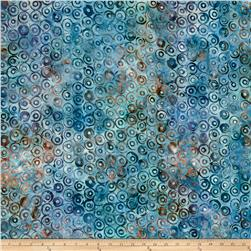 Kaufman Natural Formation Batiks Circles Water