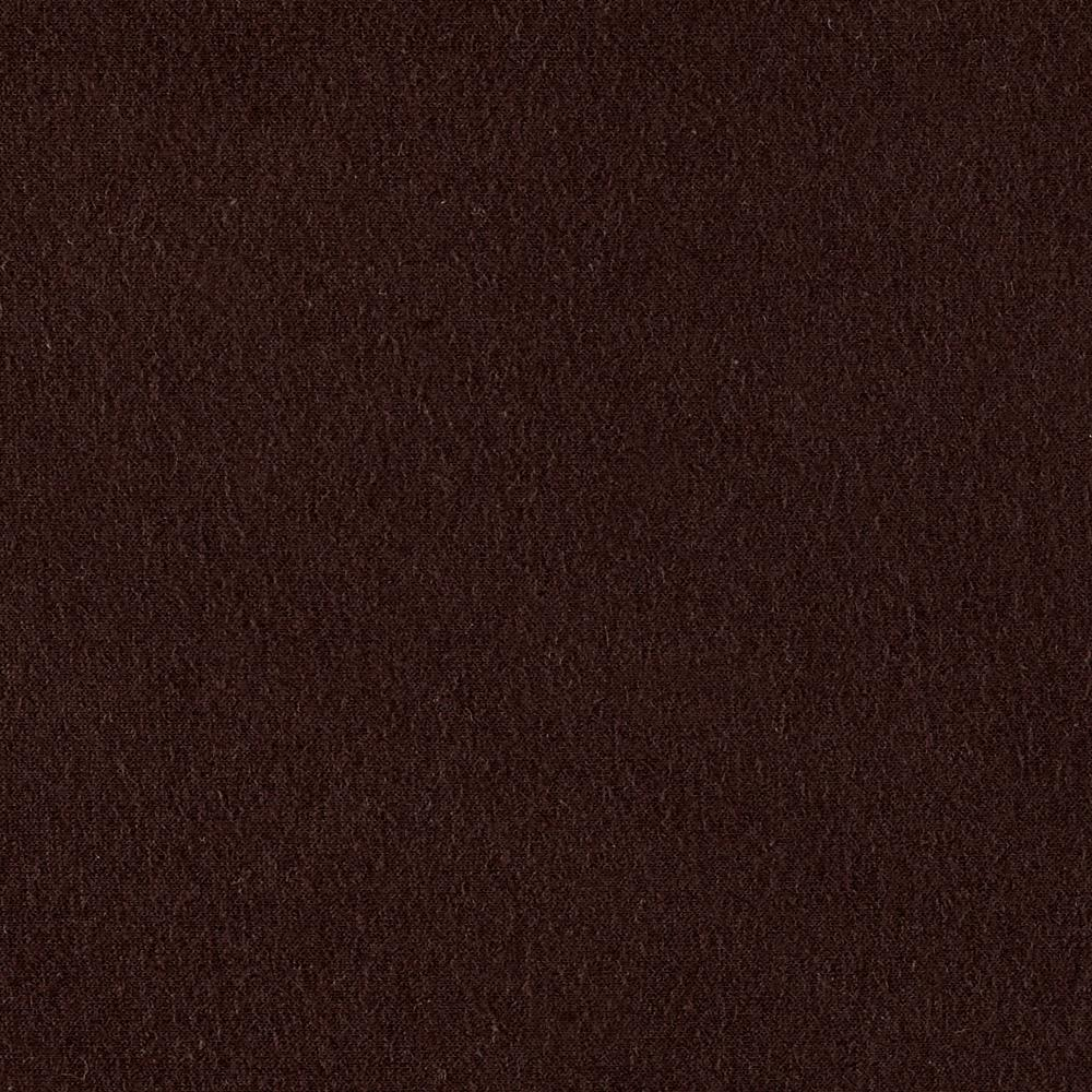 Rayon Jersey Knit Solid Brown