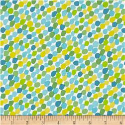 Chasing Waves Candy Spots Turquoise