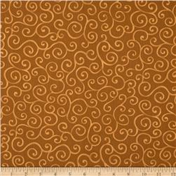 Christmas Pure & Simple Micro Dots Mocha Fabric