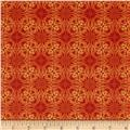 Treasures of Nature Under the Sea Geo Tonal Orange