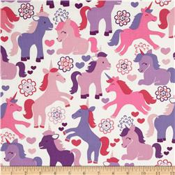 Michael Miller Magic Unicorns Lavender