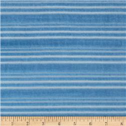 Burnout Velour Stripe Blue