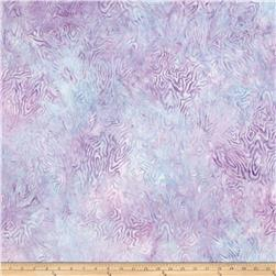 "106"" Wide Batavian Batik Quilt Back Rippled Reflections Purple"