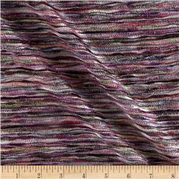 Designer Mignon Crushed Knit Violet/Multi