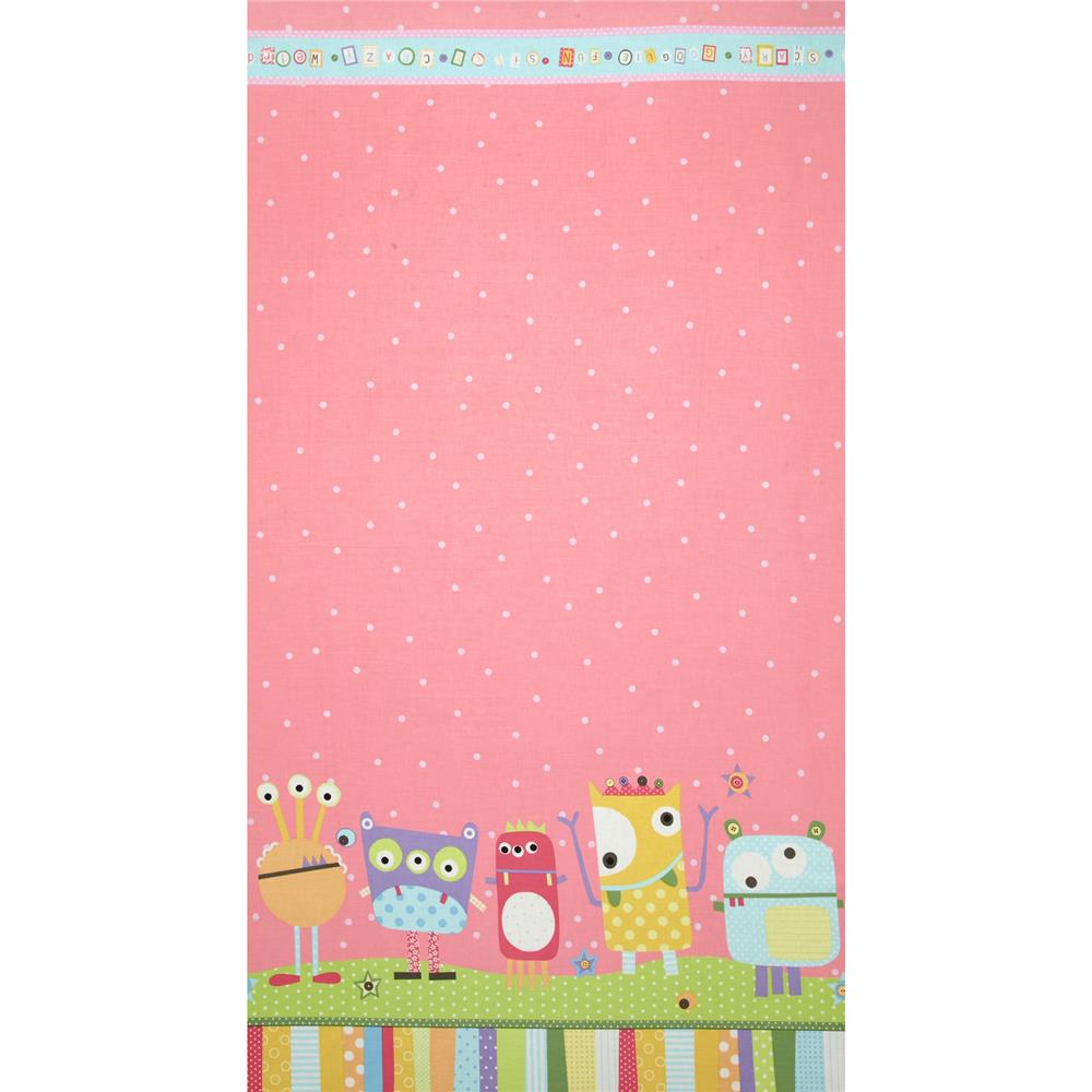 Googlies Border Print Pastel Multi