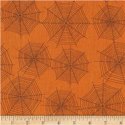 Scaredy Cats Spider Webs Orange