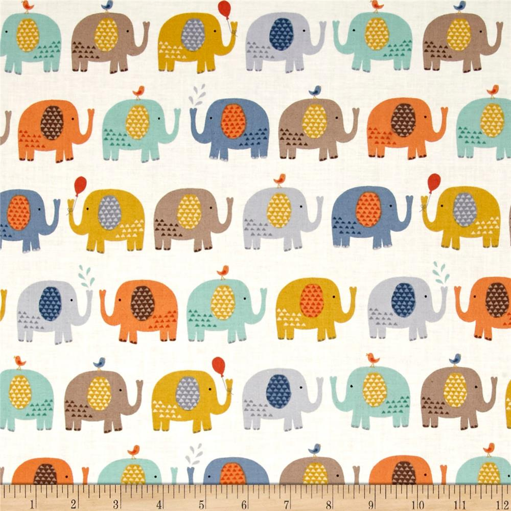 Baby Jungle Elephants Cream