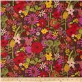 Liberty Of London Tana Lawn Scilly Flora Mauve Multi