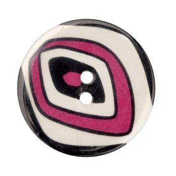 Novelty Button 1-3/8'' Ovals Multi