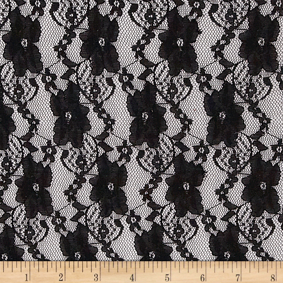 Stretch Lace Black