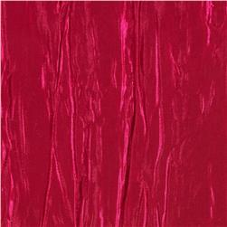 Creased Taffeta Hot Pink