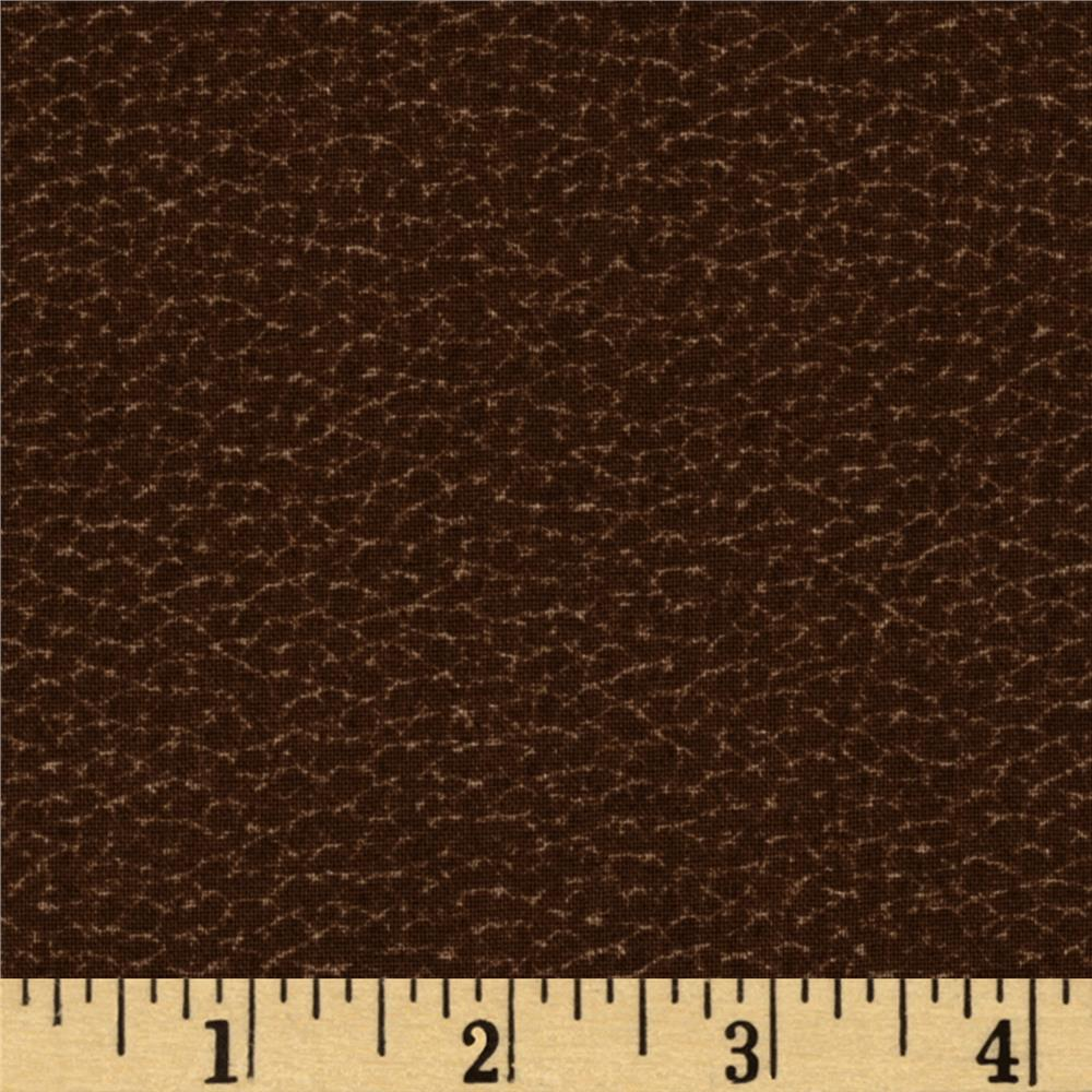 Open Road Leather Texture Brown