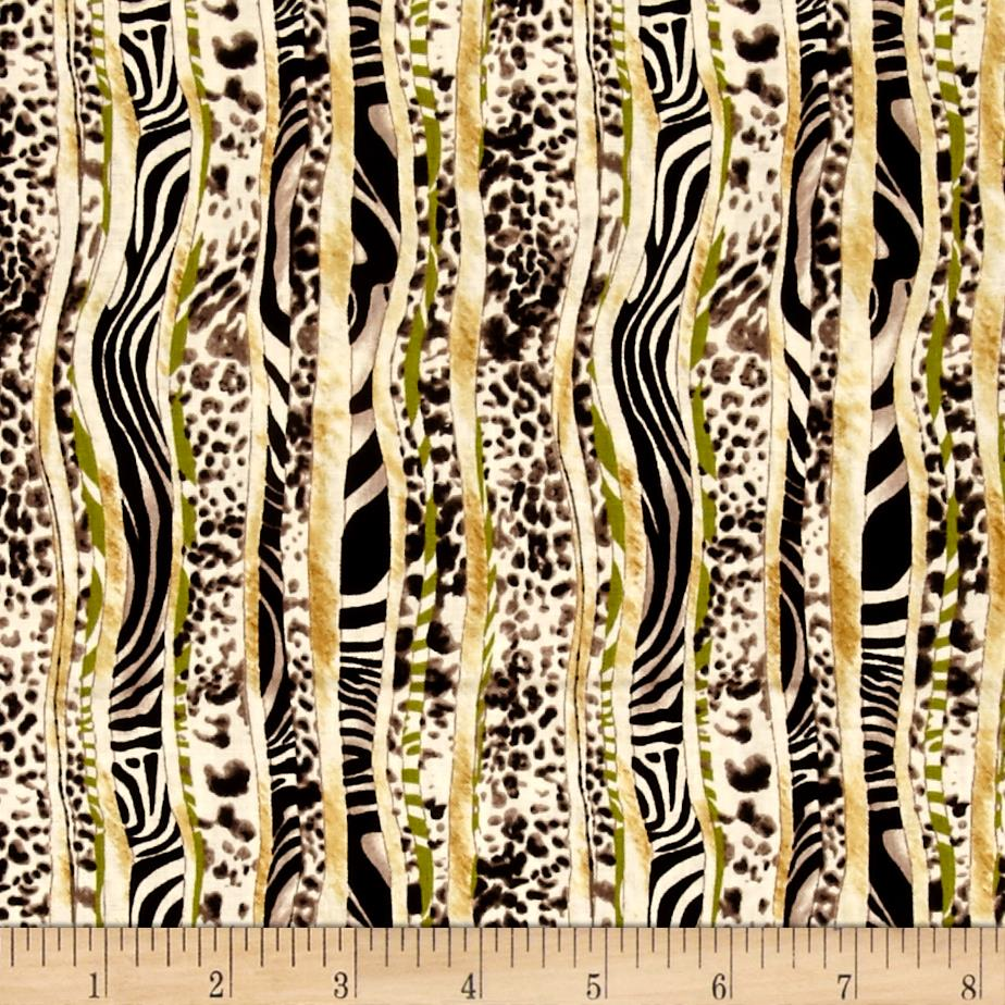 Jungle Party Animal Skin Green/Black