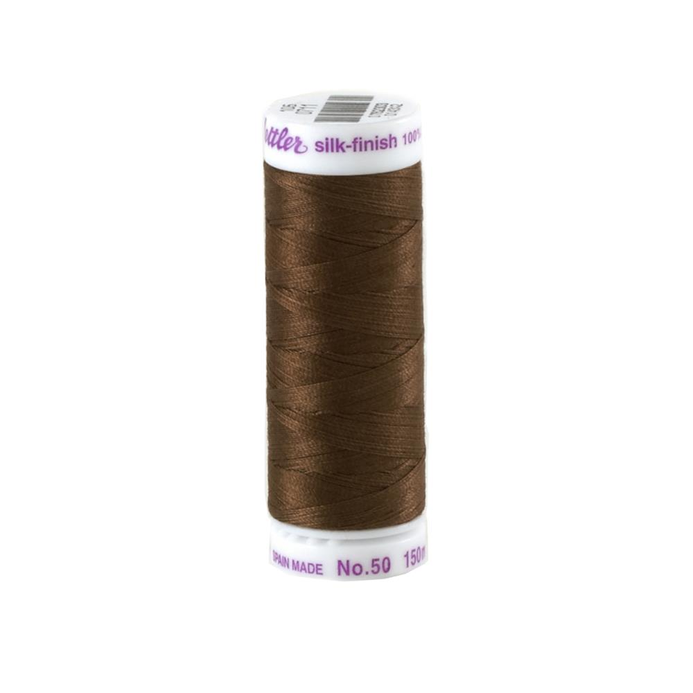 Mettler Cotton All Purpose Thread Dark Stone