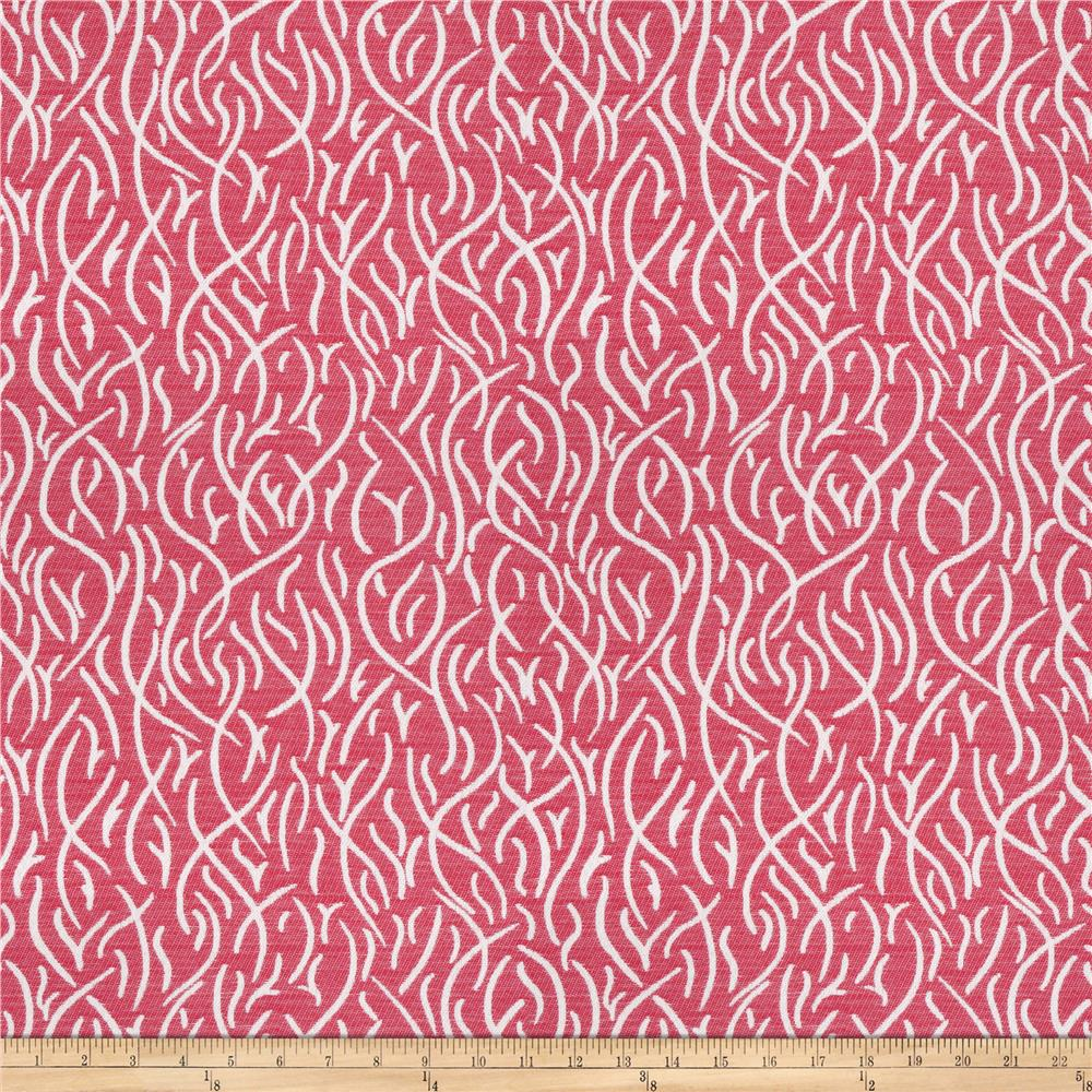 Kendall Wilkinson Swaying Reeds Indoor/Outdoor Jacquard Geranium