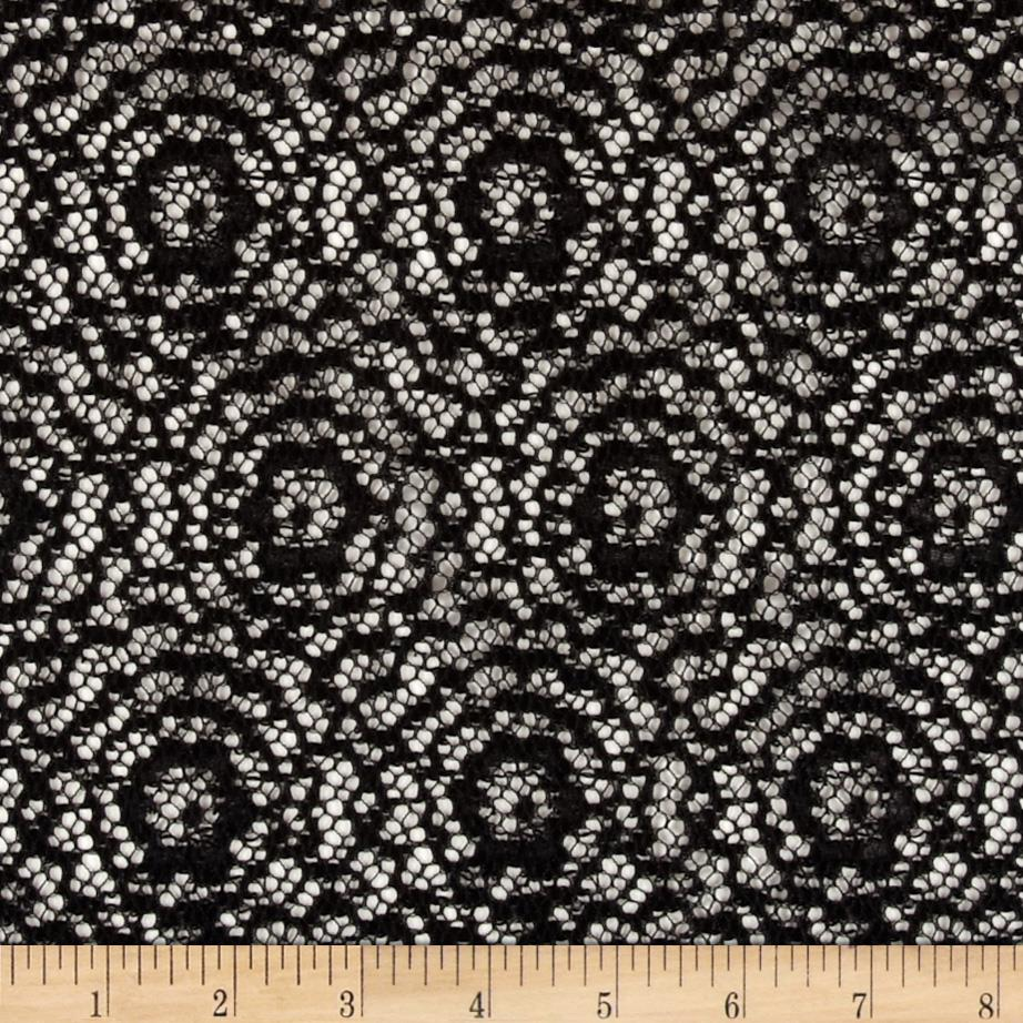 Argentella Stretch Lace Black