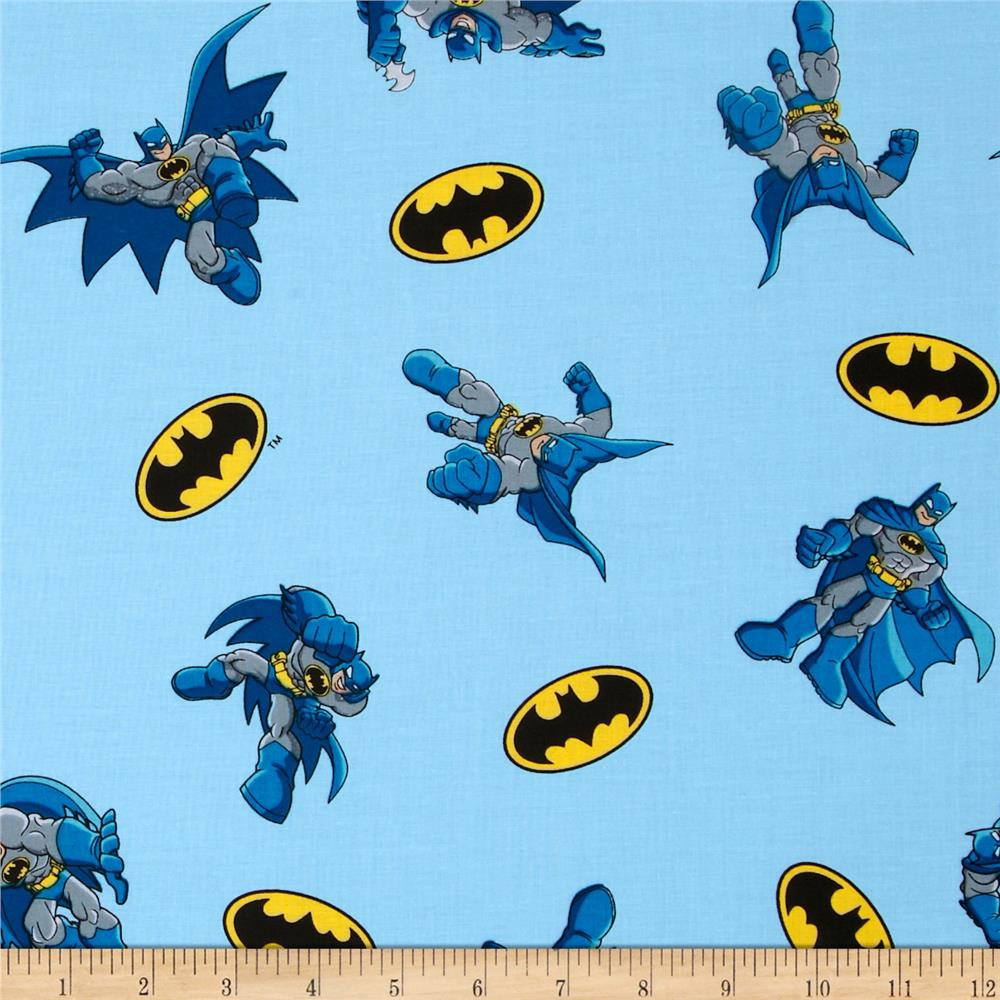 Batman Tossed Light Blue