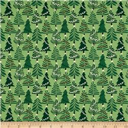 Moda Merry Merry Evergreens Spruce