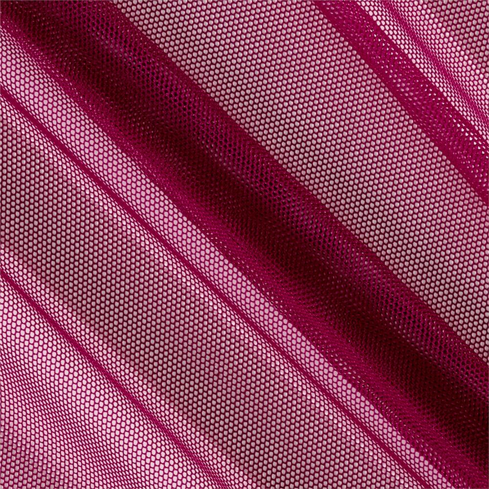 Telio Stretch Nylon Mesh Knit Magenta