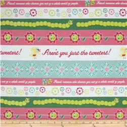 DeLovely Just the Tweetest Stripe Multi/Pink
