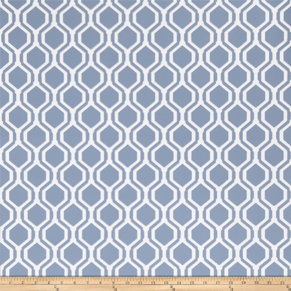 Fabricut 50078w Keys Geo Wallpaper Harbor 06 (Double Roll)