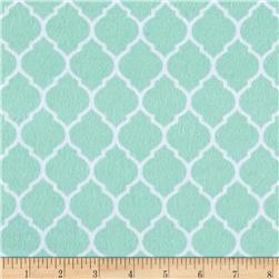 Flannel Trellis Peppermint