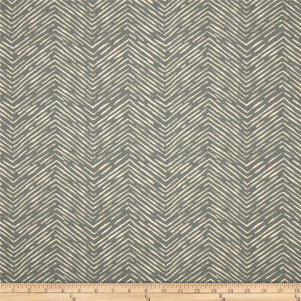 Premier Prints Cameron Duck Pewter/Natural