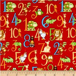 ABC-123 Numbers Red
