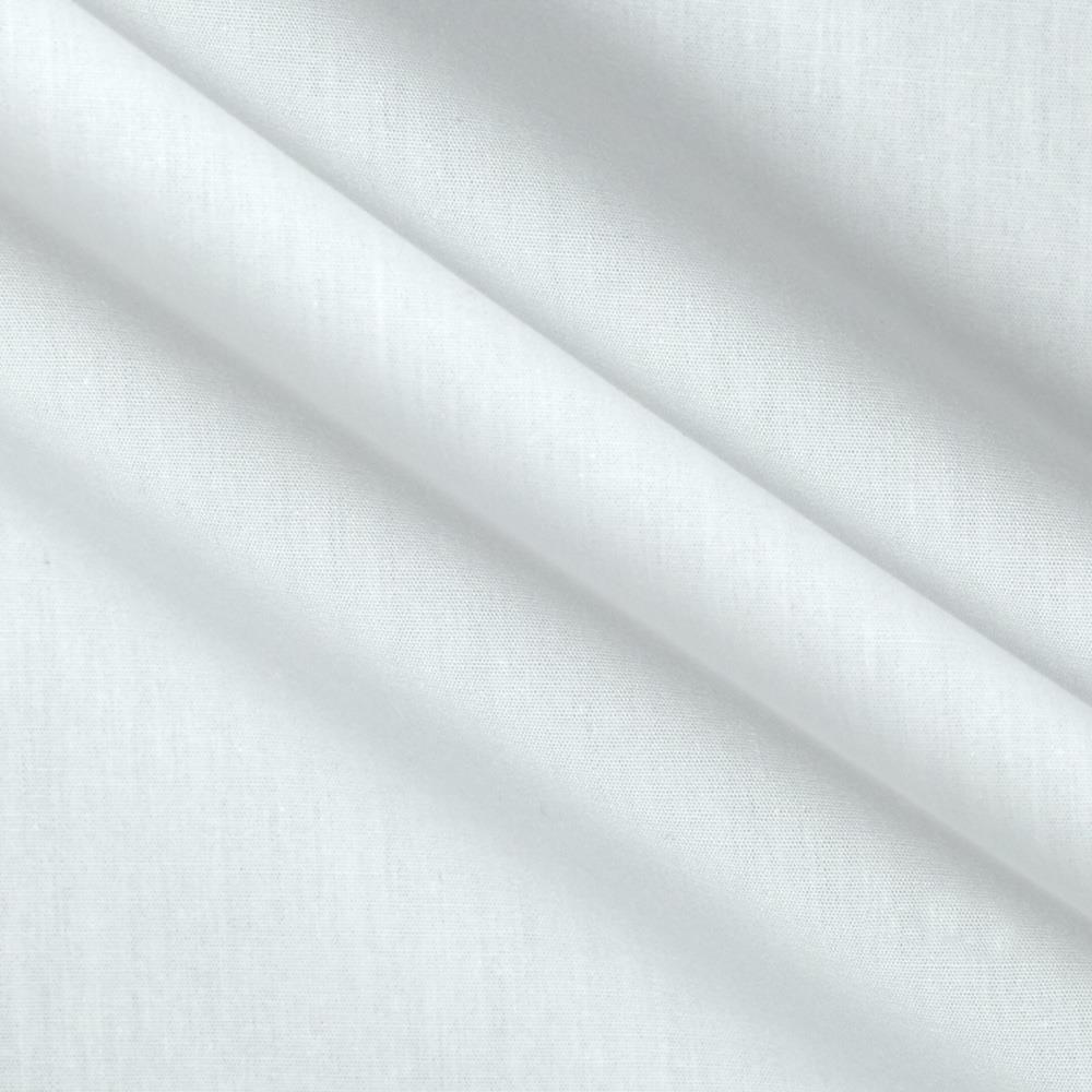 Kaufman Organic Poplin Optic White