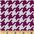 Michael Miller Everyday Houndstooth Magenta