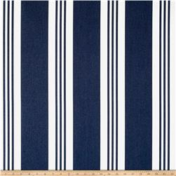 Ralph Lauren Outdoor Sunbrella Patio Stripe Blue