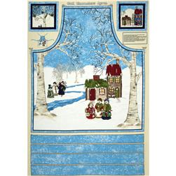 Cool Characters Apron Panel Multi
