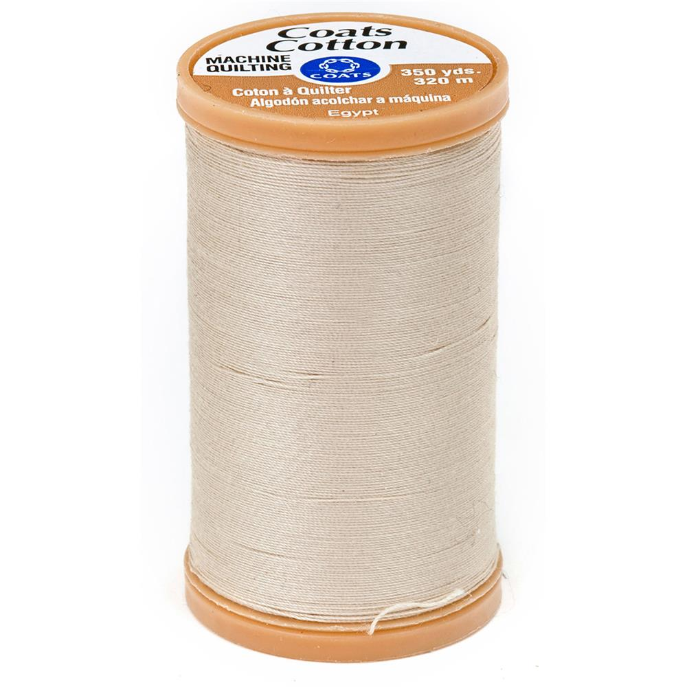 Coats & Clark Machine Quilting Cotton Thread 350 yd. Ecru