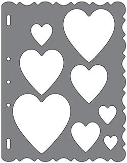 Fiskars Shape Template Hearts