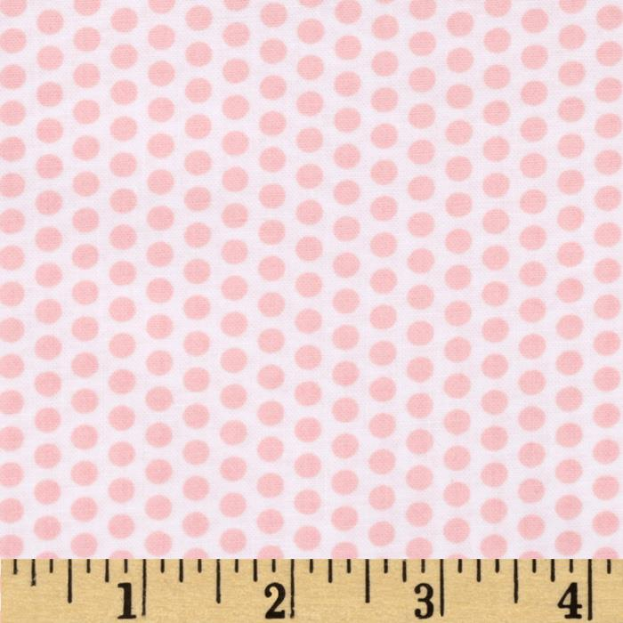 Moda Into the Woods Sweet Dots Cloud/Sweet Pink